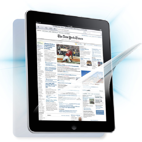 ScreenShield iPad - Film for display + body protection