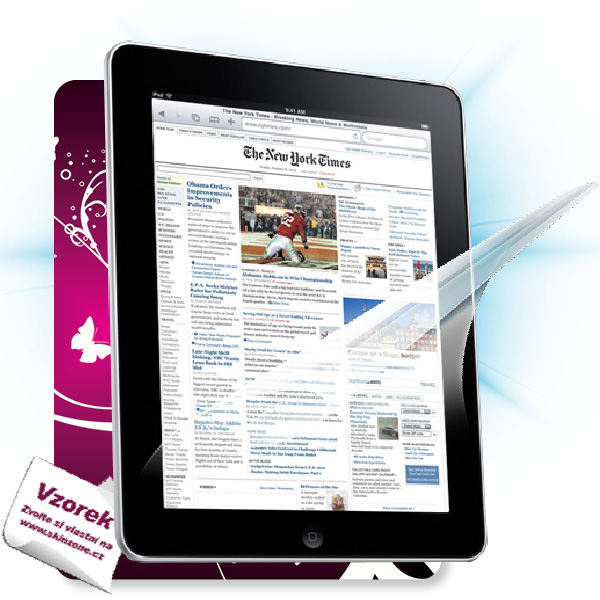 ScreenShield iPad 2 3G - Film for display protection and voucher for decorative skin (including shipping fee to end cust