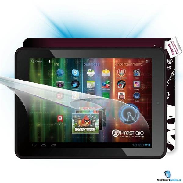ScreenShield Prestigio MultiPad PMP 5197D - Film for display protection and voucher for decorative skin (including shipp