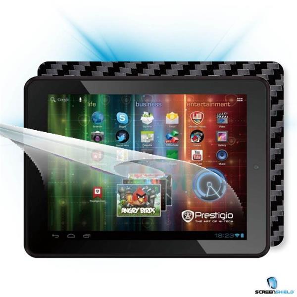 ScreenShield Prestigio MultiPad PMP 5197D - Films on display and carbon skin (black)