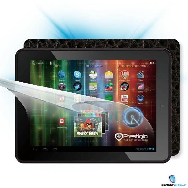 ScreenShield Prestigio MultiPad PMP 5197D - Films on display and carbon skin (leather)
