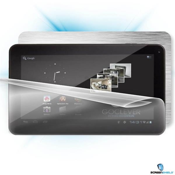 ScreenShield GoClever TAB R104 - Films on display and carbon skin (silver)