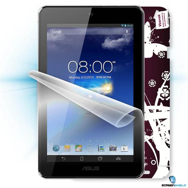 ScreenShield Asus MeMO Pad HD7 - Film for display protection and voucher for decorative skin (including shipping fee to