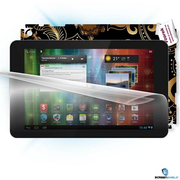ScreenShield Prestigio PMP 5101C 4 Quantum 10.1 - Film for display protection and voucher for decorative skin (including