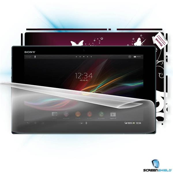 ScreenShield Sony Xperia Z Tablet - Film for display protection and voucher for decorative skin (including shipping fee