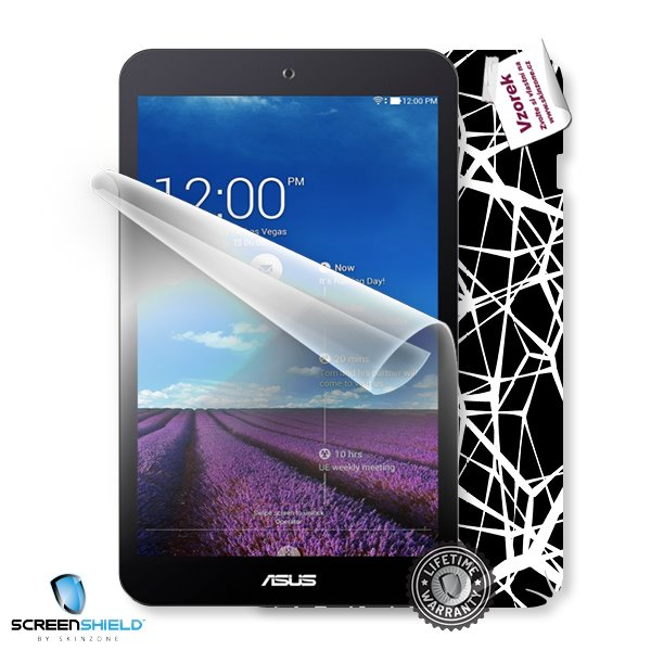ScreenShield Asus MeMO Pad 8 ME181CX 8.0 - Film for display protection and voucher for decorative skin (including shippi