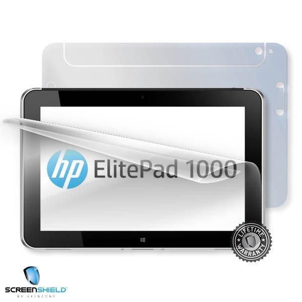 ScreenShield HP ElitePad 1000 G2 - Film for display + body protection