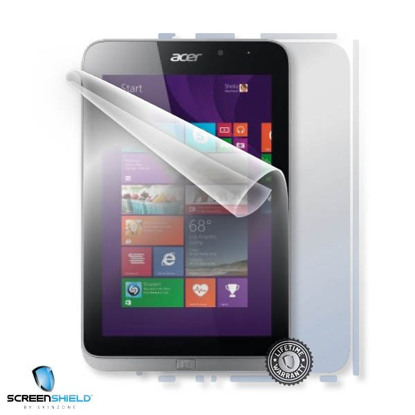 ScreenShield Acer ICONIA Tab W4-821 - Film for display + body protection