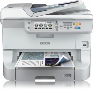 Epson WorkForce Pro WF-8590DWF, A3+, All-in-One, NET, duplex, ADF, Fax, Wifi