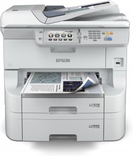Epson WorkForce Pro WF-8590DTWF, A3+, All-in-One, NET, duplex, ADF, Fax, Wifi