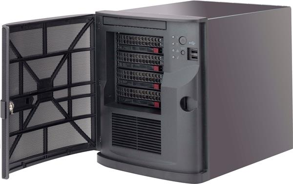 Supermicro® CSE-721TQ-250B tower chassis