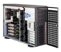 Supermicro® CSE-SC747TQ-R1400B Tower/4U chassis