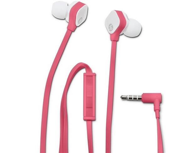 HP In-Ear Stereo Headset H2310 (Fuchsia Coral)