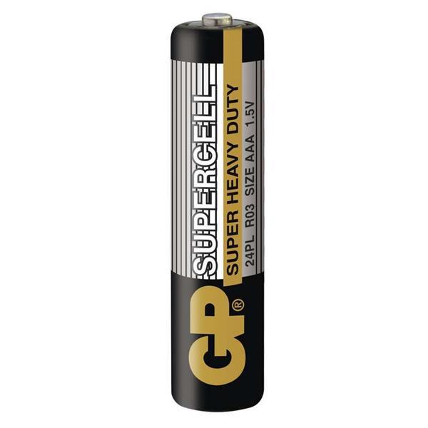 GP batéria SUPERCELL 1,5V R03/ AAA bulk