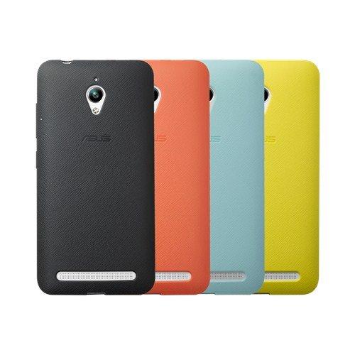 ASUS ochranné púzdro BUMPER CASE pre ZenFone Go (ZC500TG) žlté