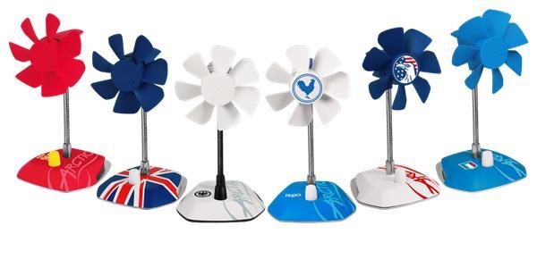 stolný ventilátor Arctic Breeze Italy USB