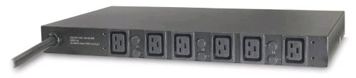 Rack PDU, Basic, 1U, 22KW, 400V, (6) C19