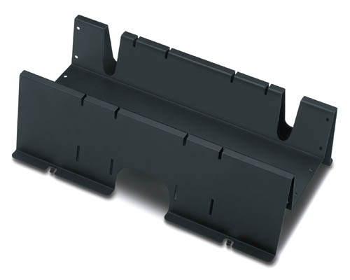 NetShelter Shielding Trough 600mm wide Black