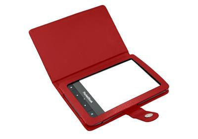 C-TECH púzdro pre Pocketbook 622/623/624/626, PBC-01, červené