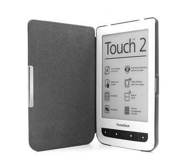 C-TECH púzdro pre Pocketbook 614/624/626, hardcover, PBC-03, čierne