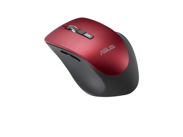 ASUS MOUSE WT425 Wireless red - optická bezdrôtová myš; červená