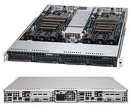 Supermicro Server Twin SYS-6018TR-TF 1U DP
