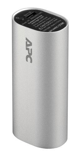 APC Mobile Power Pack, 3000mAh Li-ion cylinder, Silver ( EMEA/CIS/MEA)