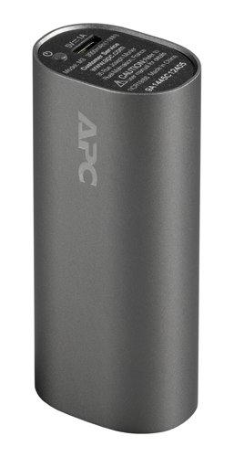 APC Mobile Power Pack, 3000mAh Li-ion cylinder, Titanium ( EMEA/CIS/MEA)