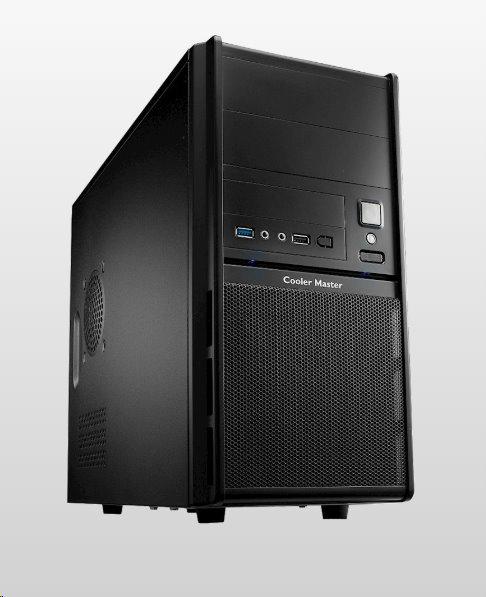 CoolerMaster case minitower Elite 342, mATX, black, USB3.0, bez zdroja