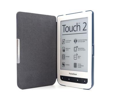 C-TECH púzdro pre Pocketbook 614/624/626, hardcover, PBC-03, modré