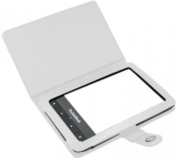 C-TECH púzdro pre Pocketbook 622/623/624/626, PBC-01, biele