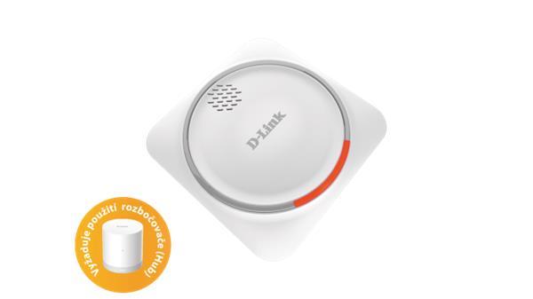D-Link DCH-Z510 Sirena mydlink Home so zaloznou bateriou