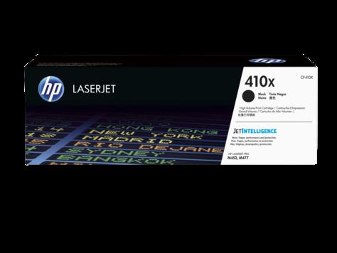 HP Čierna originálna tonerová kazeta s vysokou výťažnosťou 410X LaserJet 6500 strán
