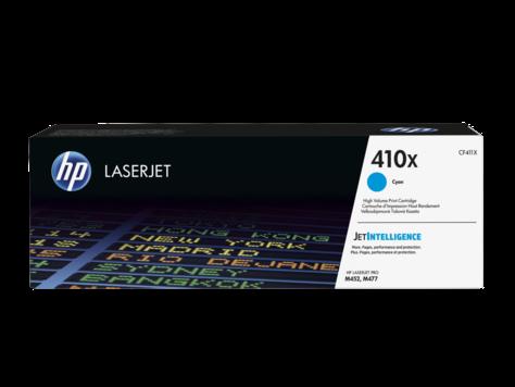 HP Azúrová originálna tonerová kazeta s vysokou výťažnosťou 410X LaserJet 5000 strán