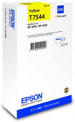 Epson atrament WF-8090/WF-8590 yellow XXL