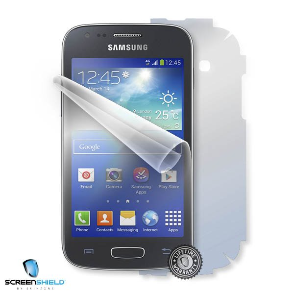 ScreenShield Samsung S7275 Galaxy Ace 3 - Film for display + body protection