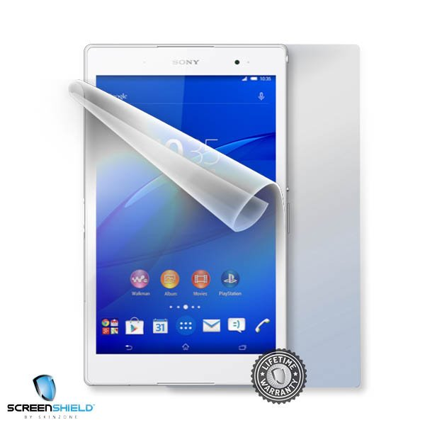 ScreenShield Sony Xperia Z3 Tablet Compact - Film for display + body protection
