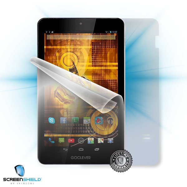 ScreenShield GoClever Quantum 700 - Film for display + body protection