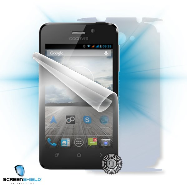 ScreenShield GoClever Quantum 450 - Film for display + body protection