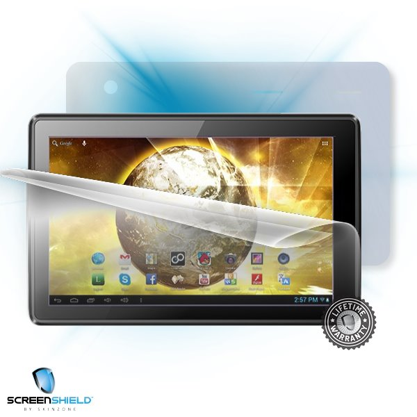 ScreenShield GoClever TAB A1022 Terra 101 - Film for display + body protection
