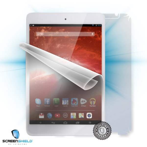 ScreenShield GoClever TAB A7842 Orion 785 - Film for display + body protection