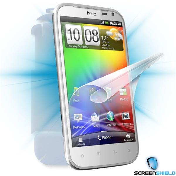 ScreenShield HTC Sensation XL - Film for display + body protection