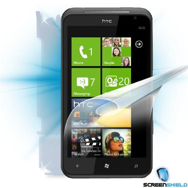 ScreenShield HTC Titan - Film for display + body protection