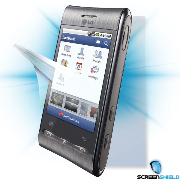 ScreenShield LG GT540 Optimus - Film for display + body protection