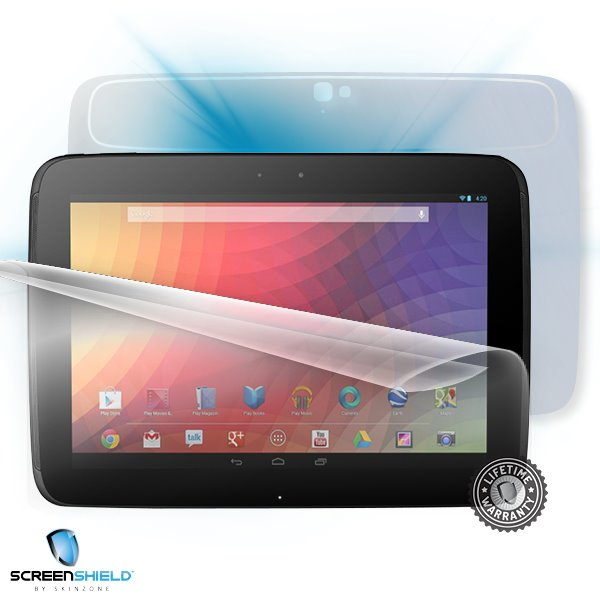 ScreenShield Samsung P8110 Nexus 10 - Film for display + body protection