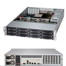 Supermicro Storage Server SSG-6028R-E1CR12T 2U DP