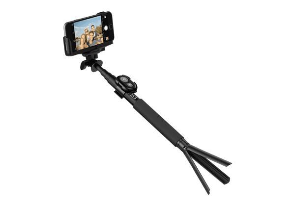 Cygnett GoStick Selfie teleskopická tyč s Bluetooth a trojnožkou pre smartfóny a GoPro kamery