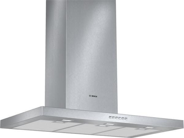 BOSCH_90 cm, komínový, odv.+cirkulácia, 3 st.+int., 730 m3/h, EcoSilenceDrive, LED-osvetlenie, vent. s dvojsmerným saním