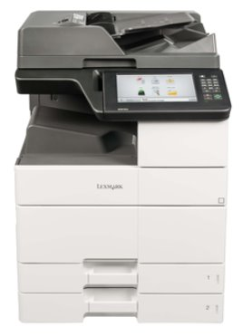 Lexmark MX910de, mono laser MFP, 45ppm, 1024MB, 800MHz, USB, GLan, Fax