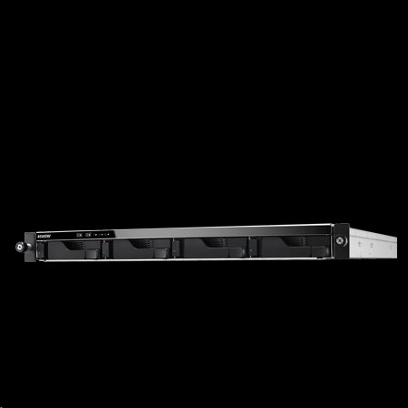 Asustor™ AS-204RS 4 bay NAS, Rack mount 1U,1GB DDR3